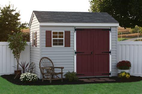 6x6 Vinyl Storage Sheds buy maintenance free sheds vinyl sided from lancaster pa