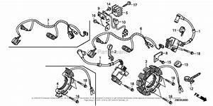 Honda Engines Gx630r Qzb Engine  Jpn  Vin  Gcbek