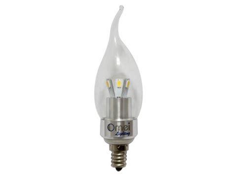 6 pack dimmable e12 warm white 2850 3000k 3 watt led