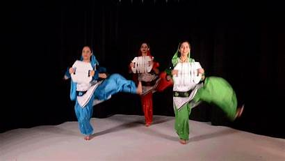 Indian Dance Bhangra Traditional Form American Colleges