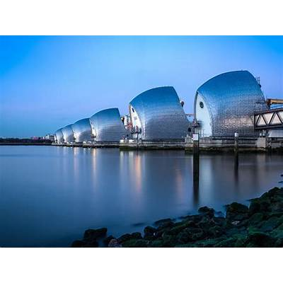 Photographing The Thames Barrier