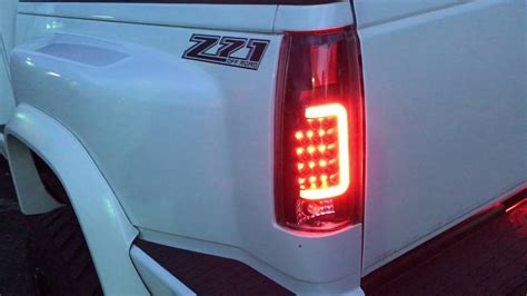 led  bar tail lights youtube