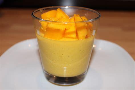 dessert avec de la mangue le de kakrine ma mousse mangue