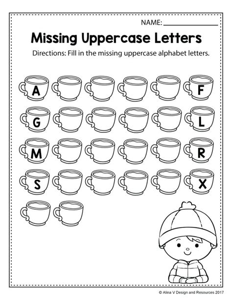 Worksheets Missing Letters In Words Worksheets For Kindergarten Teach The Alphabet With This