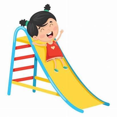 Slide Kid Sliding Boy Freepik Vetor Cartoon