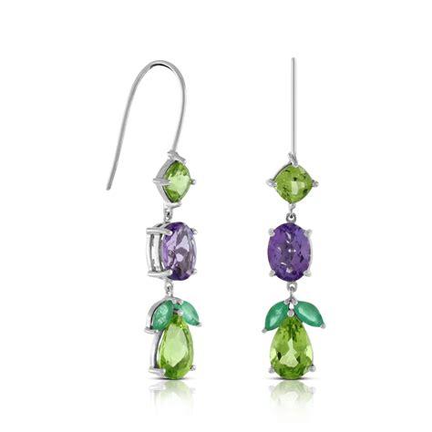 lisa bridge peridot amethyst emerald earrings ben