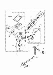 2016 Triumph Thunderbird Master Cylinder Assembly