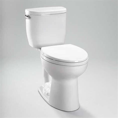 toto entrada close coupled elongated toilet gpf