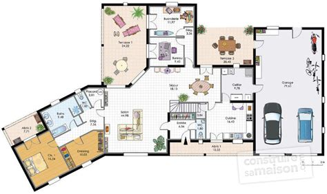cuisine italienne meuble grande maison familiale dé du plan de grande maison