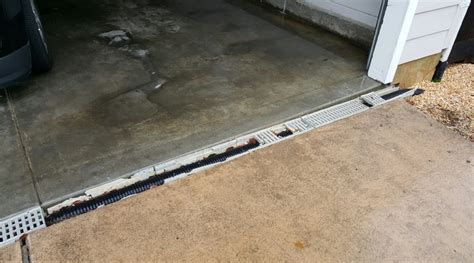 cost to install drain plastic trench drain com
