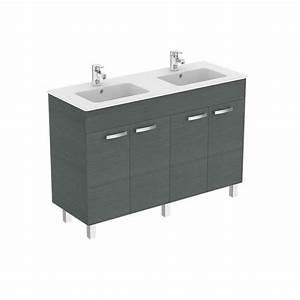 ensemble meuble et lavabo plan sur pied ulysse 120 cm porcher With lavabo et meuble