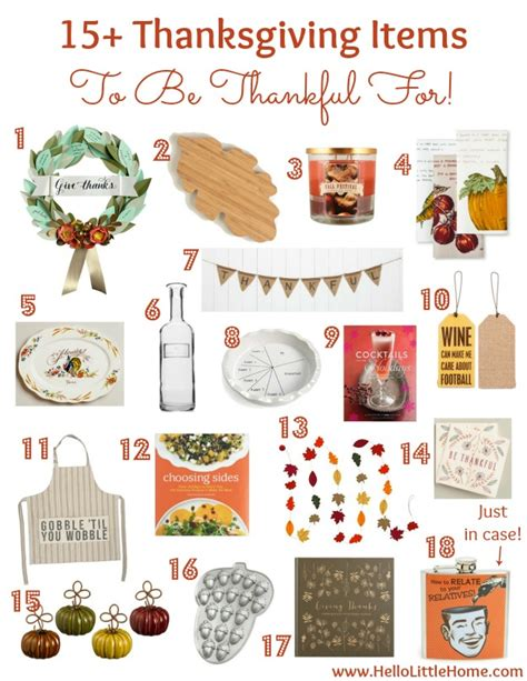 thanksgiving items list 15 thanksgiving items to be thankful for