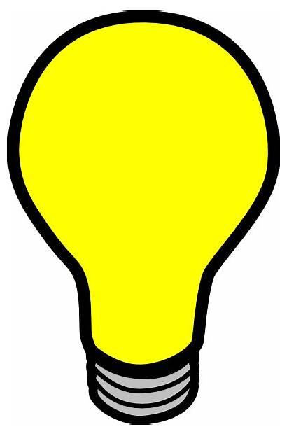 Bulb Clip Clipart Clker Domain