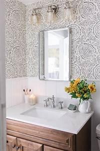 modern farmhouse style bathroom makeover reveal bathroom