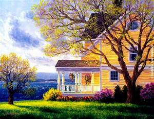 Country Home Wallpaper Desktop Hd Background