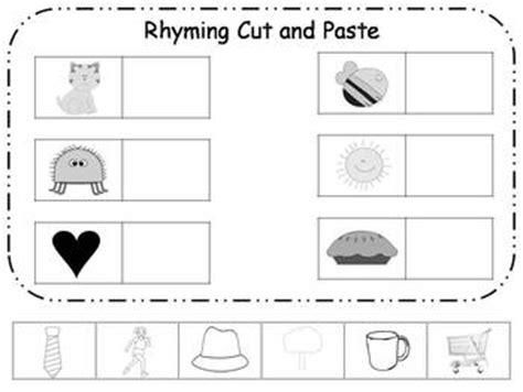 rhyming cut and paste printable freebie by klever kiddos 608 | original 438761 1