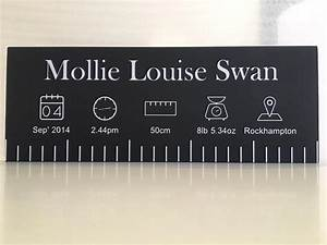 Toddler Foot Growth Chart Personalised Ruler Birth Charts Toddler Baby Co