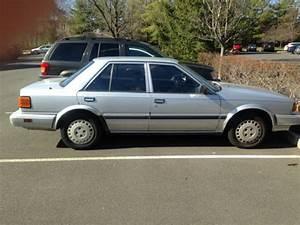 Nissan Stanza Sedan 1988 Silver For Sale  Jn1ht21sxjt140436 1988 Nissan Stanza Gxe Sedan 4