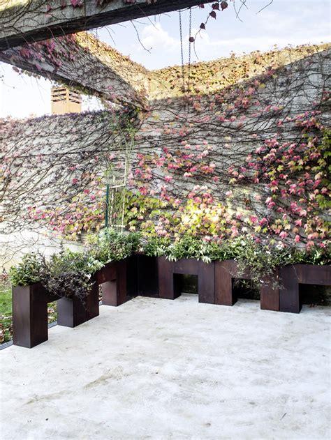 il giardino di corten il giardino di corten arredi in corten per gli spazi outdoor