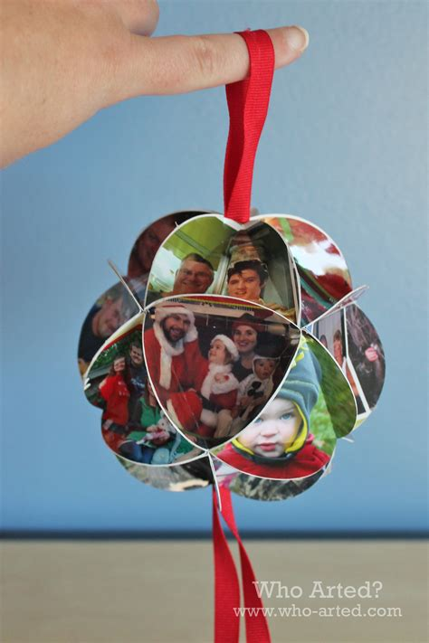 christmas card ornament step by step instructions who
