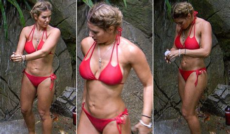 Toned And Tanned Rebekah Vardy Atrips Off For Steamy ...
