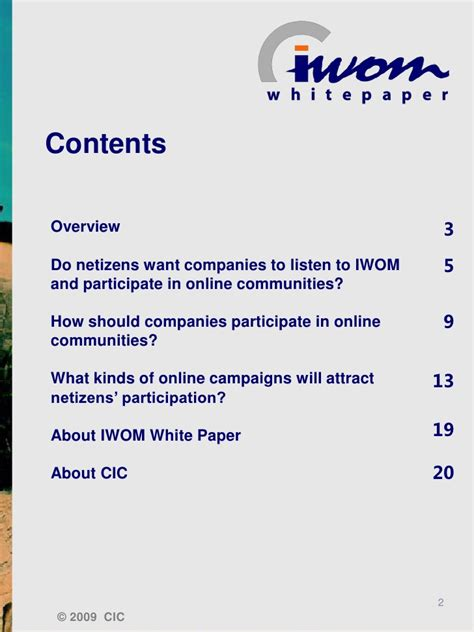 """making Sense Of Iwom"" Topic 3 How Brands Can Participate"