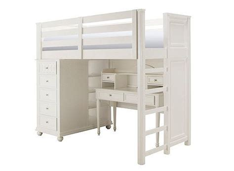 jamboree twin storage loft bed  desk  hutch twin