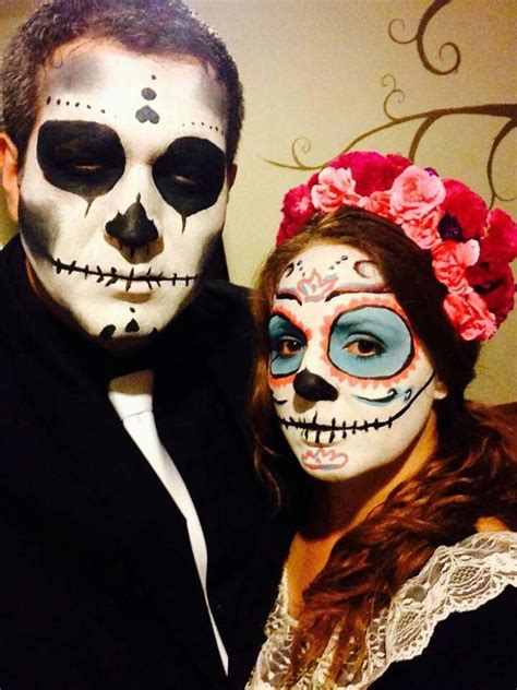 easy  cool halloween makeup  couples ohh