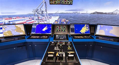 Ship Bridge by Ship Bridge Simulator Aboa Mare
