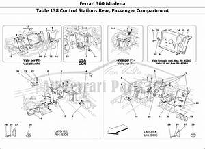 Buy Original Ferrari 360 Modena 138 Control Stations Rear