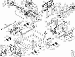 Dewalt Dwe7491rs Table Saw Parts Parts