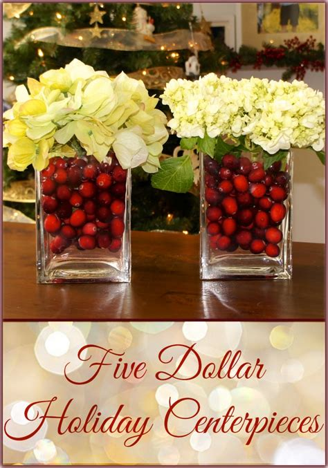 cheap christmas table decorations 5 holiday centerpieces doing this for christmas