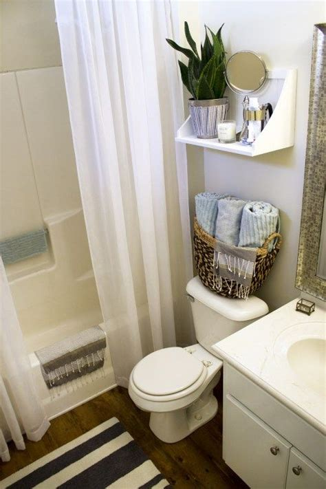 small rental bathroom makeover    passing fancy