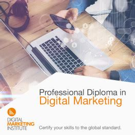professional diploma in digital marketing professional diploma in digital marketing q1 2017