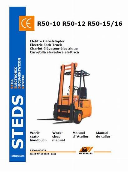 R50 Still Manual Workshop Pdf Electric Repair