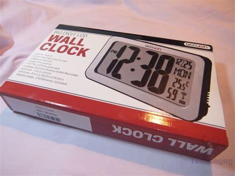 digital atomic desk clock review of accuon digital atomic desk wall clock technogog