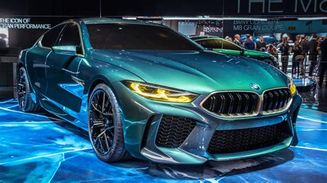 This Is The Bmw Concept M8 Gran Coupe