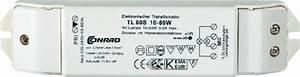 Transformator Rechnung : halogen transformator tl60 s 12v 10 60w dimmbar mit phasenabschnittdimmer a020 voelkner ~ Themetempest.com Abrechnung