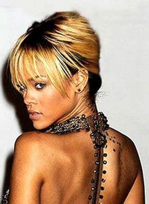 Rihanna Gets New Cross Tattoo  Fashion News