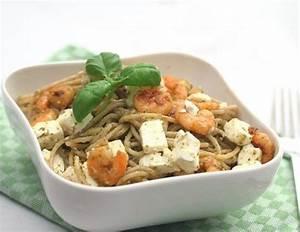 Pasta Mit Garnelen : pasta mit pesto feta und garnelen rezept ~ Orissabook.com Haus und Dekorationen