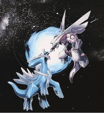 Palkia Pokemon Dialga Anime Space Fan Giratina