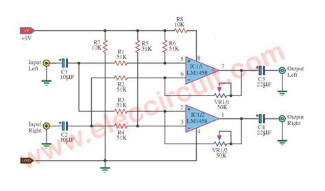 cheap surround sound system circuit diagram eleccircuitcom