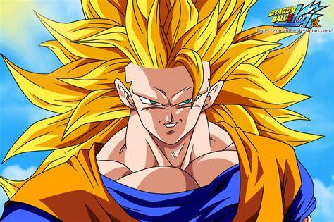 Gokú Supersayajin 3 Ssj3 Goku
