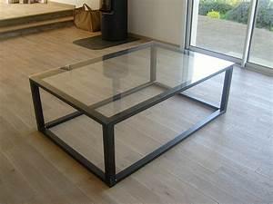 Table En Metal : mobilier serrurerie metallerie arzal morbihan 56 ~ Teatrodelosmanantiales.com Idées de Décoration
