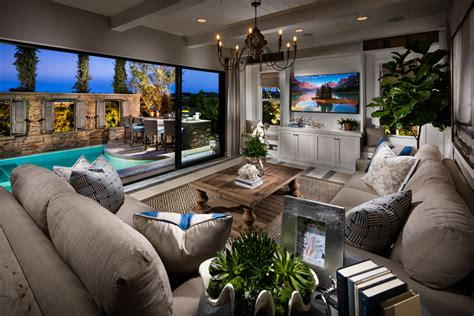 Luxury Home With Indoor Outdoor Family Living Spaces by Carlsbad Ca New Homes For Sale Toll Brothers At