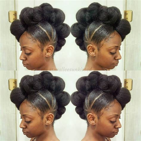 Easy Updo Hairstyles For Black Hair by 50 Updo Hairstyles For Black Ranging From To