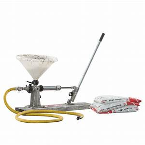 Grout Pump - Manual For Rent