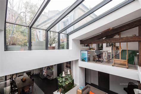 cuisine dans loft aubervilliers maison loft avec terrasse dans une