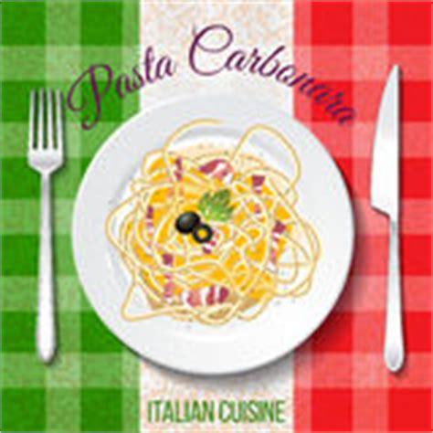 cuisine sicilienne traditionnelle peinture de carbonara de spaghetti par l 39 aquarelle