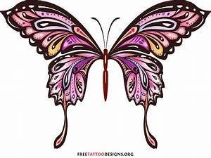 Tribal Butterfly Drawings - ClipArt Best